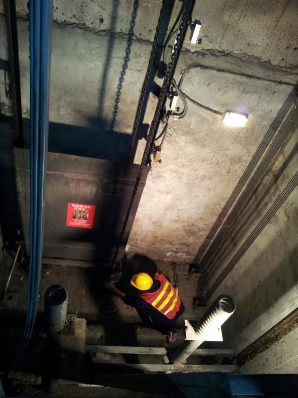 升降機槽防水工程