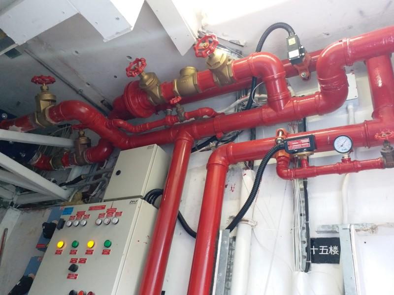消防喉管安裝工程