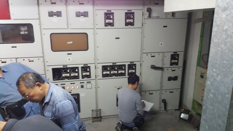 固定電力裝置定期測試